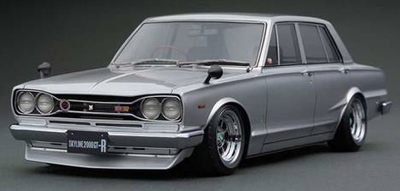 Nissan Skyline 2000 GT-R (PGC10) Silver   ※Hayashi-Wheel