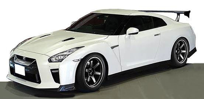 NISSAN GT-R (R35) Premium Edition White (1/18 Scale)