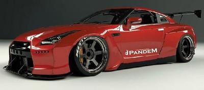 PANDEM R35 GT-R Red Metallic