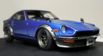 Nissan Fairlady Z (S30) Blue ※Watanabe-Wheel