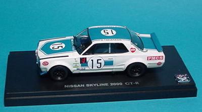 ニッサン  スカイライン 2000GT-R(KPGC10)972 GCシリーズ優勝車(富士300kmスピードレース)