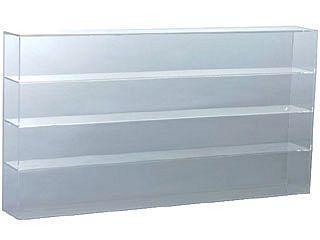 1/43スケール用 高級アクリルケース 4段(パッケージサイズで16台収納可能)