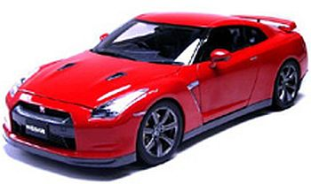 NISSAN GT-R 2008 PLEMIUM EDITION(VIBRANT RED)