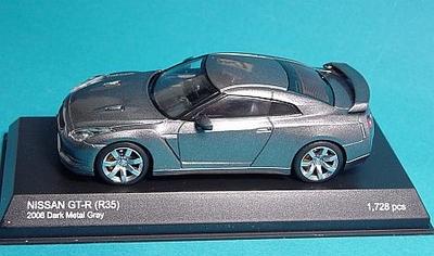 ニッサン GT-R(R35) 2007(ダークメタルグレー)