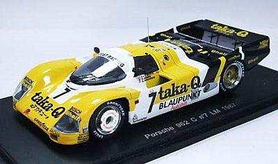 ポルシェ 962 「Taka-Q」 ルマン 1987 No.7