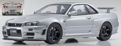 ニスモ R34 GT-R Z-tune (シルバー)限定700台