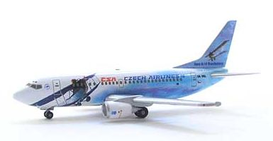 B737-500 CSAチェコ航空 (OK-DGL) 「80周年記念」 チェコ