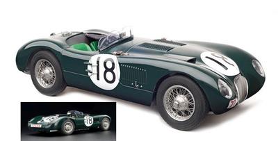 ジャガー C-Type 1953年ルマン24H 優勝 #18 1953年、ジャガーにル・マン初優勝をもたらした車