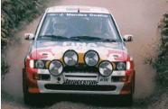 フォード エスコート コスワース 2000年ポルトガルラリー Luis Fonseca/M.Soares