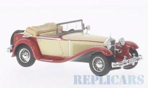 メルセデス・ベンツ 370S マンハイム (1932) レッド/ベージュ