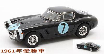 """フェラーリ 250GT Passo Corto  1961年RAC Tourist Trophy  優勝 #7  Moss"""""""