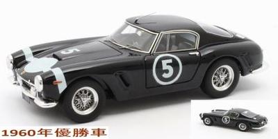 """フェラーリ 250GT Passo Corto Winner  1960年Nassau Tourist Trophy 優勝 #5 Moss"""""""