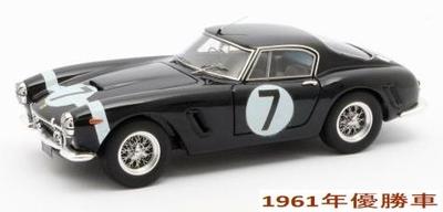 """フェラーリ 250GT Passo Corto 960年RAC Tourist Trophy 優勝 #7 Moss"""""""