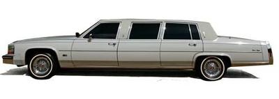 キャデラック フリートウッド フォーマル ストレッチリムジン 1980 ブラック