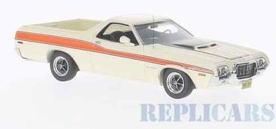 フォード ランチェロ GT 1972 ホワイト/オレンジ