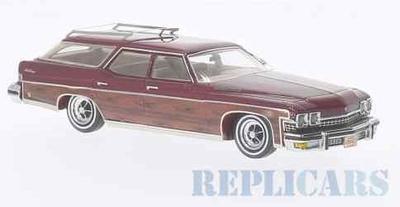 ビュイック ルセーバー エステイト ワゴン 1974 メタリックダークレッド/ウッド