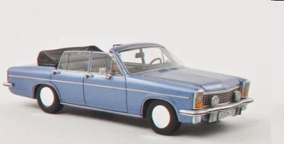 オペル ティプロマート B コンバーチブル Fissore 1971  メタリックブルー