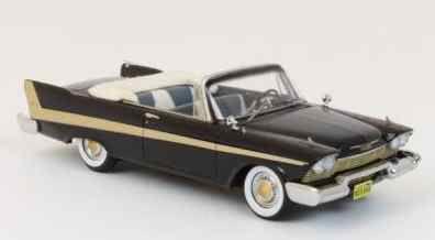 プリムス フューリー コンバーチブル 1958  ブラック