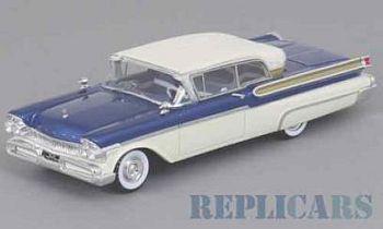 マーキュリー ターンパイク クーペ 1957  ブルー/ホワイト