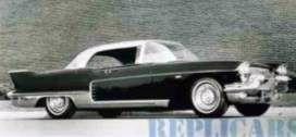 キャデラック 62シリーズ ハードトップクーペ 1957  ブラック/シルバー