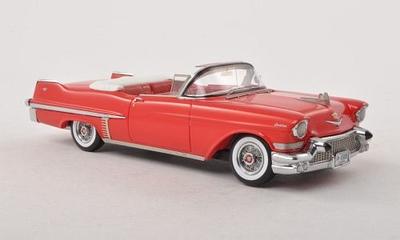 キャデラック 62シリーズ コンバーチブル (1957)  レッド