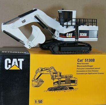NZG Caterpillar 5130B Shovel 「WITE」     ※ 発掘