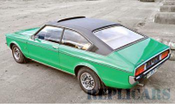 フォード グラナダ MKI クーペ 1972  グリーン/ブラック
