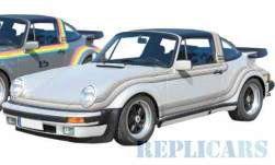 ポルシェ 911 ターボ タルガ B&B Tuning 1982  メタリックホワイト