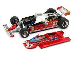 フェラーリ 126CK 1981年モナコGP G.Villeneuve  (No.27)