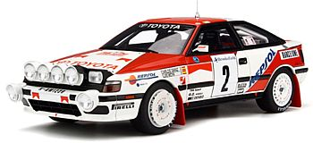 トヨタ セリカ ST165 モンテカルロラリー 1991 #3 C.Sainz