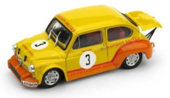 フィアット アバルト 1000 1970年ザントフォールト R. Dijkstra #3 London Drink Racing Team