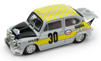 フィアット アバルト 1000 1969年ラリールーアン  Gr.2/5 優勝 #30  Ficol/Beurden Scuderia Bardahl