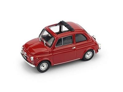 Fiat 500F aperta 1965-72      Rosso