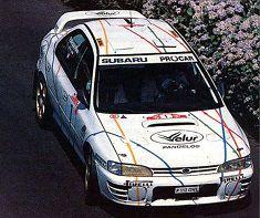 スバル インプレッサ 4x4 ターボ 1995年ラリー・マデイラ(ポルトガル) 1位