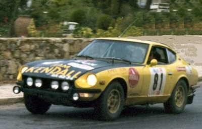 """ダットサン 240z 1972年ラリーポルトガル  A.C.Oliveira / """"Barata"""""""
