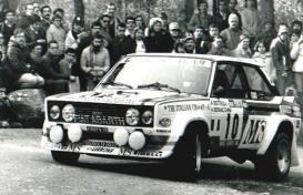 フィアット 131 アバルト MS  1980年ポルトガルラリー