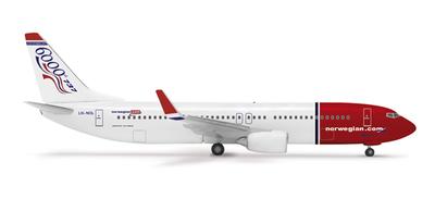 B737-800 ノルウェー・エアシャトル 「B737 6000機記念塗装」