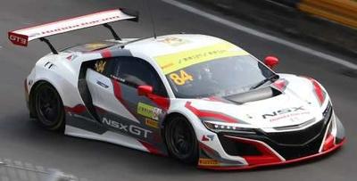 Honda NSX GT3 No.84 - Honda Racing  FIA GT World Cup Macau 2017