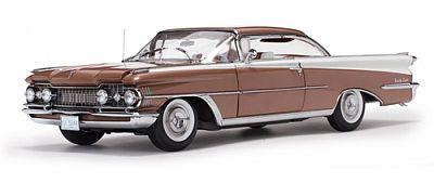 オールズモビル 98 ハードトップ  1959 ブロンズミスト/ポラリスホワイト
