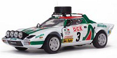 ランチア ストラトス HF  1976年Rallye du Maroc 3位  #3 S.Munari/S.Maiga