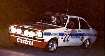 フォード エスコート  MK2  980年サンレモラリー グループ1 1位
