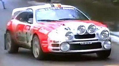 トヨタ セリカ ST205 1996年Boucles de SPA(ベルギー) 3位   ナイトライト無し