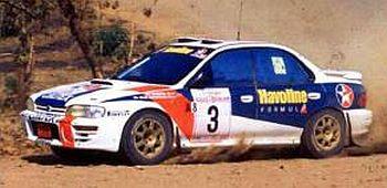 スバル インプレッサ 1997年ラリータイランド 1位