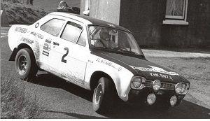 フォード エスコート Mk RS 1600 1971年マンクス・ラリー 1位 Roger Clark / Henry Liddon