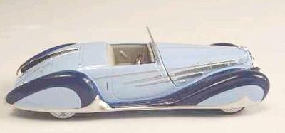 ドライエ 165 V12 1938 ライトブルー/グレー