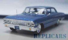 フォード ギャラクシー セダン 1964 メタリックライトブルー