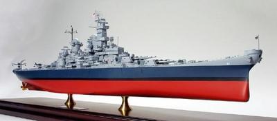 マスターワークコレクション(完成モデル) アメリカ海軍 戦艦ミズーリ(完成品)