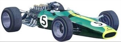 チームロータス タイプ49 1967  エッチングパーツ付