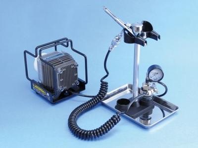 [Mr.HOBBY] リニアコンプレッサー L5 /プラチナブラシ・圧力計付レギュレーターセット