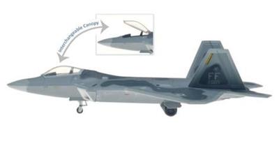 Mシリーズ F-22A アメリカ空軍 1FW 27FS FF 005  ラングレー空軍基地